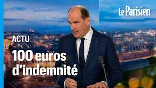 «Indemnité inflation» : 100 euros pour ceux gagnant moins de 2000 euros net par mois, annonce Castex