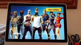 Fortnite Installed & Running Great on the Paperspace P5000 GPU Cloud Gaming Machine with the Mac.