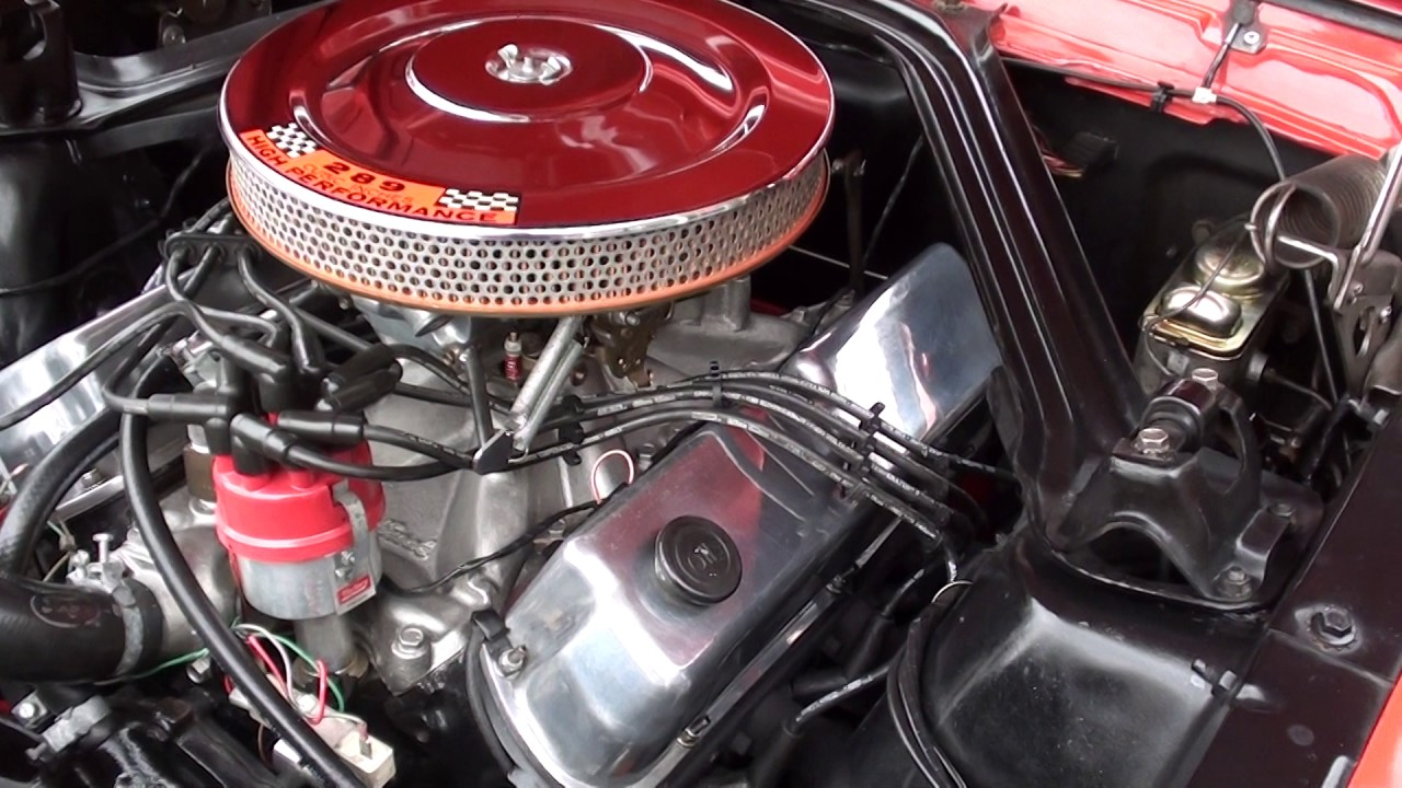 1965 Ford Mustang K code $33,900 00 - YouTube