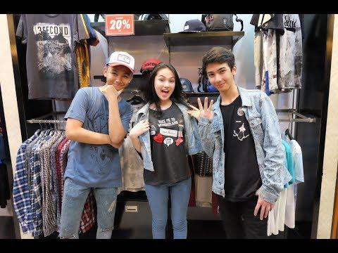 Visit 3Second Store Bukittinggi - Ari Irham, Azka, Aisyah