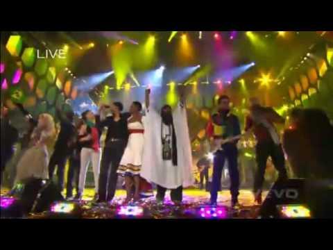 Fergie, Shakira & More -  Final del Concierto Mundial Sudafrica 2010