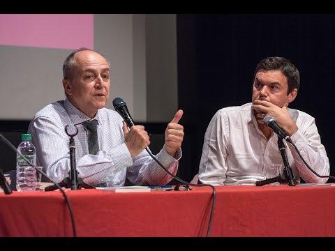 Jacques Généreux et Thomas Piketty débattent de l'Europe