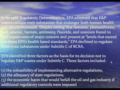 The Facts on Fracking (Part 1) - Fracking Waste Management