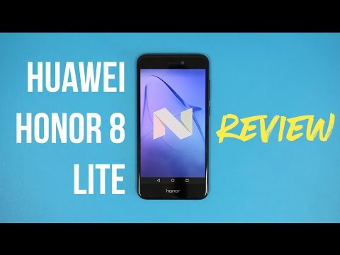 Huawei Honor 8 Lite Review (Urdu)