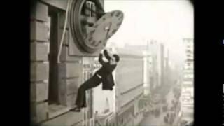 El Hombre Mosca ... Escena del Reloj (Harold Lloyd)