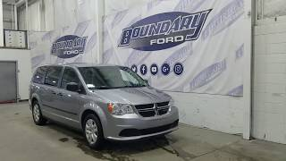 Pre-owned 2015 Dodge Grand Caravan SE W/ 3.6L, Cloth Overview | Boundary Ford