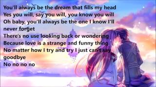 Nightcore - Never had a dream come true - Lyrics