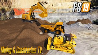 Multiplayer Dig Soil  Mining And Construction Economy Map Farming Simulator 2019