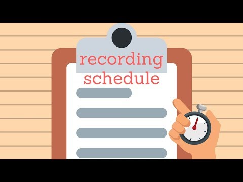 How to Setup a Cloud Recording Schedule with Camcloud - YouTube