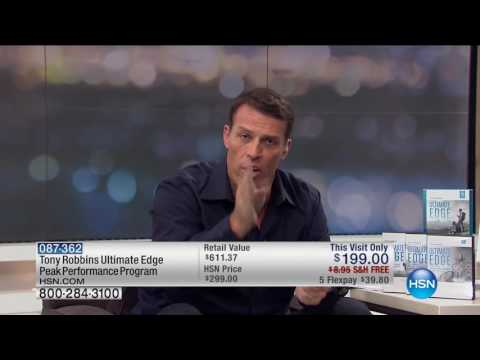 HSN | Tony Robbins Ultimate Edge Premiere 10.01.2016 - 02 AM