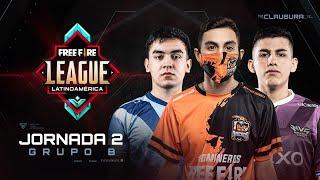 Free Fire League 2020 - Clausura | Grupo B | Jornada 2