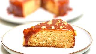 Apple Caramel Cake  Caramel Apple Cake Recipe  How to make easiest &amp delicious apple caramel cake