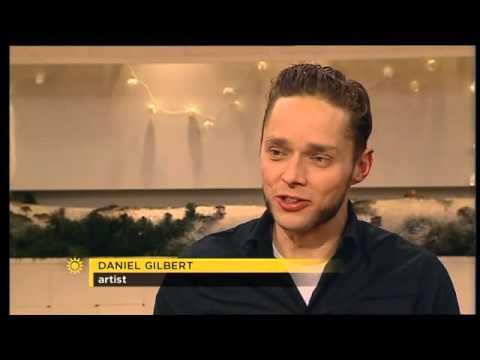 Daniel Gilbert i TV4 Nyhetsmorgon 2010