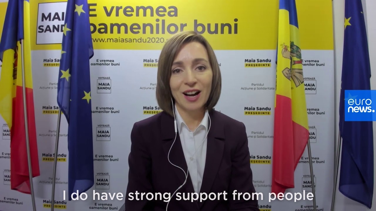 'The people want snap parliamentary elections,' Moldovan president-elect Maia Sandu tells