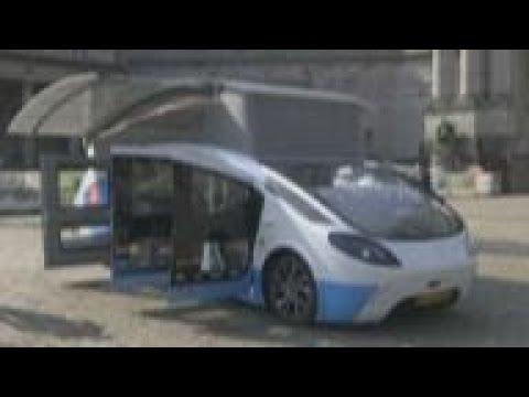 Solar powered vehicle prepares for European road trip