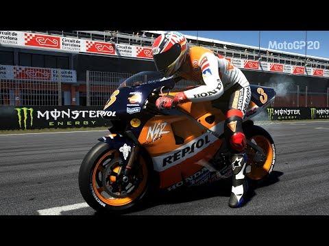 MotoGP 20 - Honda NSR500 1999 - Test Ride Gameplay (PC HD) [1080p60FPS] |
