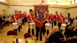 Broxburn Loyalists F.B. @ Airdrie Grens 20/02/10 My Old Man / Blue is the Colour