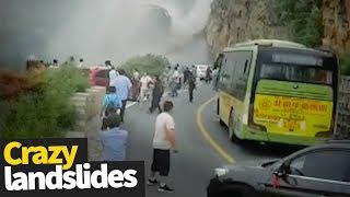 Extreme Landslide Compilation | Crazy Landslides and Avalanches