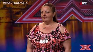 Things get steamy in the Audition Room | Maria Magro | X Factor Malta Season 02