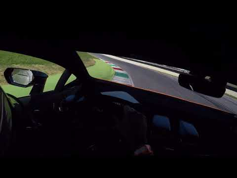 Lamborghini Huracan Performante at Mugello Racetrack