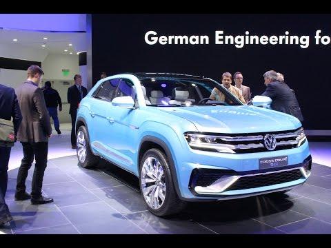 Volkswagen Cross Coupe GTE Concept at the 2015 NAIAS Detroit Auto Show
