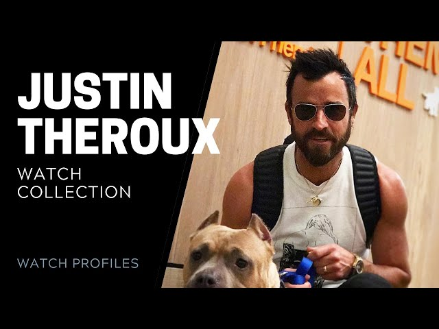Justin Theroux's Watch Collection | SwissWatchExpo [Watch Collection]