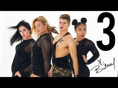 3 - Britney Spears | Caleb Marshall X Montana Tucker | Dance Workout