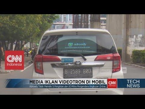 Inovasi Media Iklan Video pada Kaca Belakang Mobil