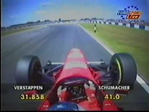 Michael Schumacher -  Silverstone 1996 (onboard)
