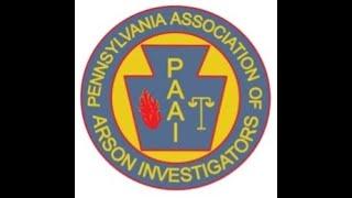 S#18 DCARI Firefighter Arsonists PA Association of Arson Investigators, Instructor David Klitsch