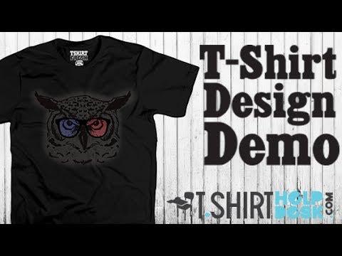 T-shirt Design Demo Owl Tee