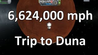 Kerbal Space Program - Launchpad to Duna in 35 minutes
