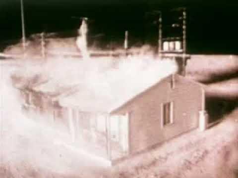 Atomic Bomb Test - Operation Cue (1955)