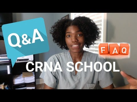 FAQ and Q&As about CRNA School and Myself!!!