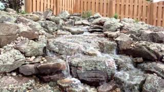 Burkle Pondless Waterfall- 2010