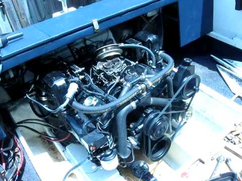 chevy small block 5 7 mercruiser marine engine youtube. Black Bedroom Furniture Sets. Home Design Ideas