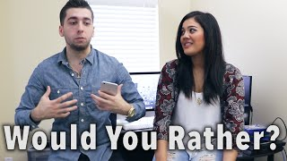 WOULD YOU RATHER? [Q&A]