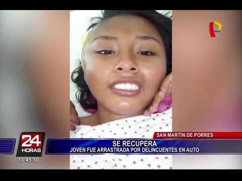 Callao: joven que fue arrastrada por ladrones, se recupera satisfactoriamente