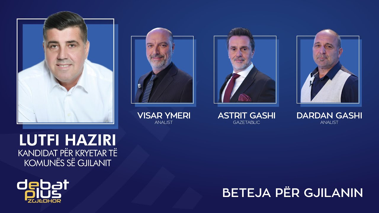 """Download Debat Plus me Ermal Pandurin - """"BETEJA"""" PËR GJILANIN"""