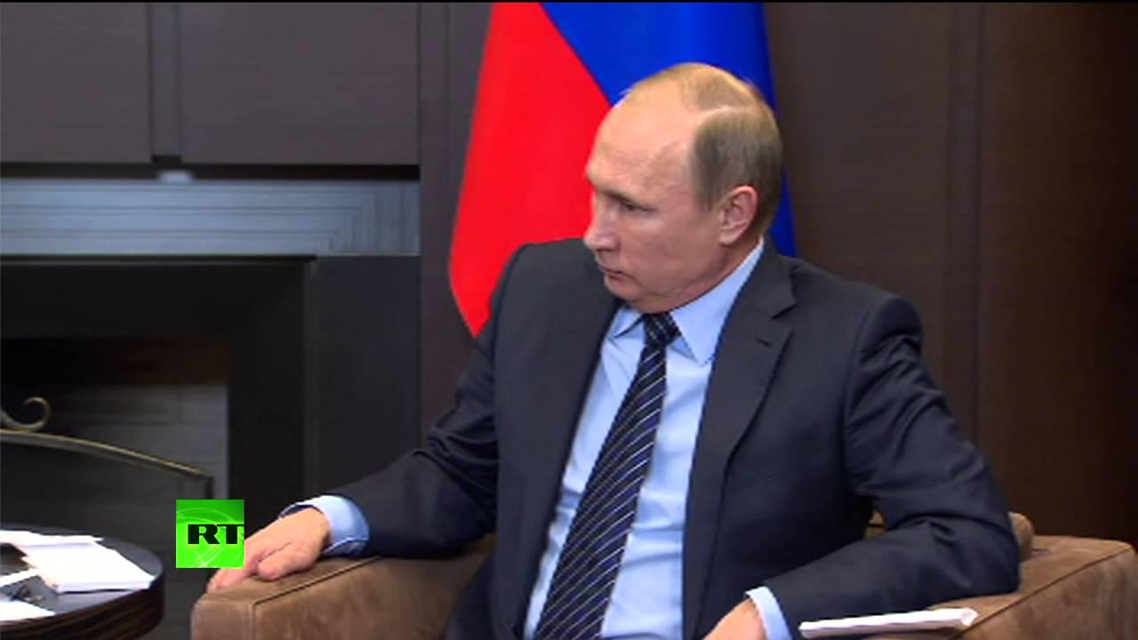 Владимир Путин встречается с королем Иордании Абдаллой II Бен Аль Хусейном