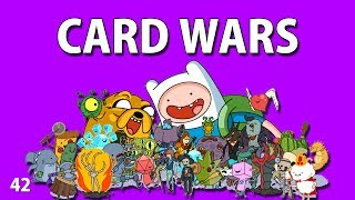 Adventure Time : CARD WARS - Leveling Doctor Donut 42 - iOS iPhone iPod iPad Android