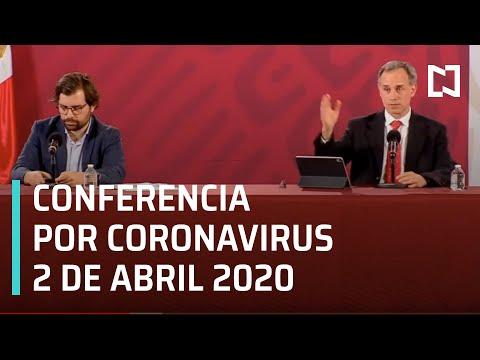 Conferencia Por Coronavirus En México - 2 De Abril 2020