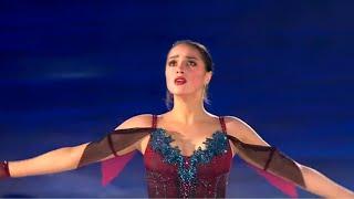 Алина Загитова поздравляет мэтра Показательный номер Юбилей А Н Мишина