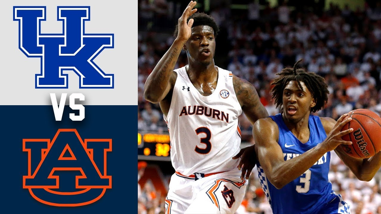 #13 Kentucky vs #17 Auburn Highlights 2020 College Basketball
