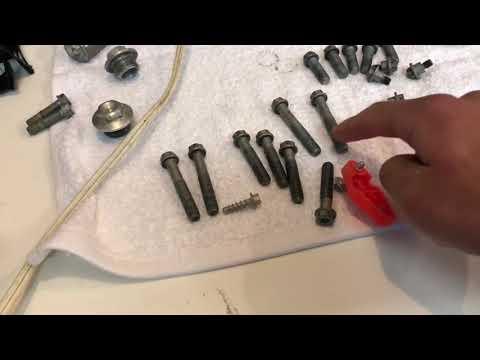 How to clean dirt bike headset bearings