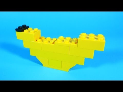How To Build Lego Banana 4630 Lego Build Play Box Building