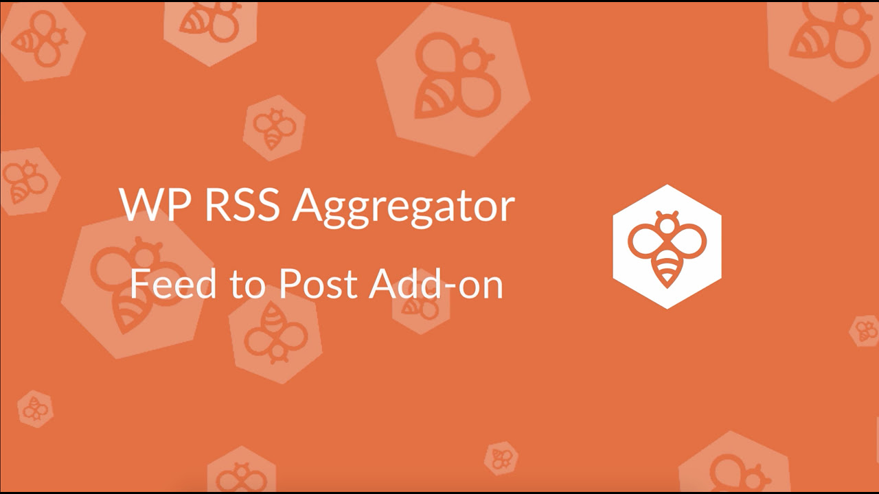 feed to post wp rss aggregator