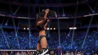 WWE 2K15 (PS4) - Nikki Bella Fearless Nikki attire