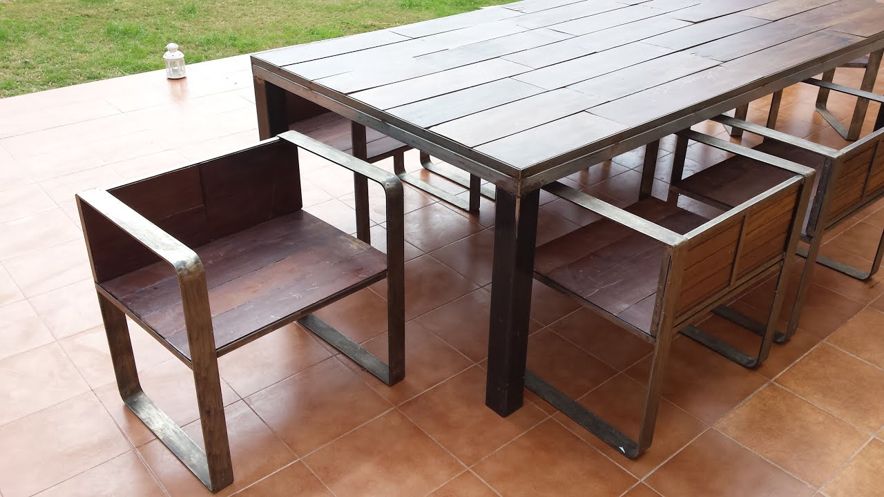 chair design iron allen and roth cushions table 43chair 43wood remnants youtube