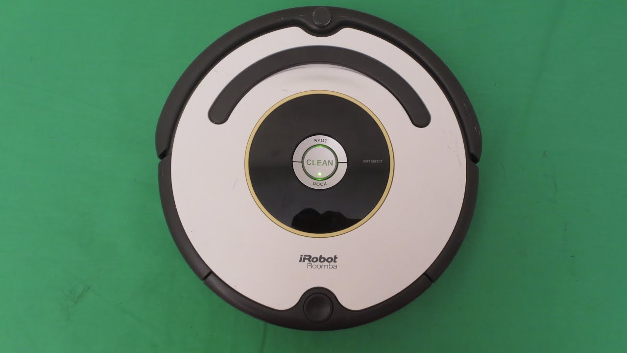roomba irobot 620 vacuum review and demonstration youtube. Black Bedroom Furniture Sets. Home Design Ideas